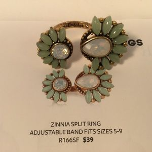 Stella and Dot Zinnia Split Ring